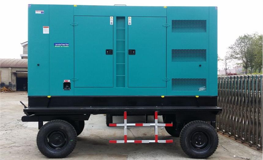 移动防雨型柴油发电机组